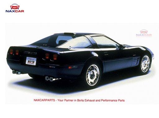 Corvette C4 5 7l '84-'91 S-Type Borla 11376 - NaxcarParts